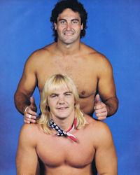 Barry Windham and Mike Rotundo