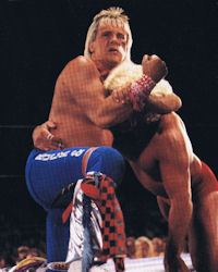 Ricky Morton vs Ric Flair
