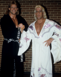 Ric Flair and Lex Luger