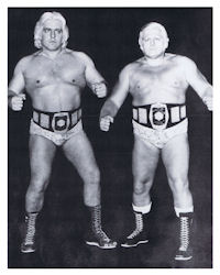 Ric Flair and Rip Hawk