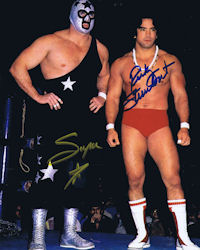 Masked Superstar and Ricky Steamboat