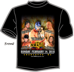 2010 NWA New Beginnings Event Tshirt