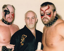Road Warriors and Paul Ellering!