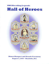 2009 Fanfest Souvenir Program Hall of Heroes