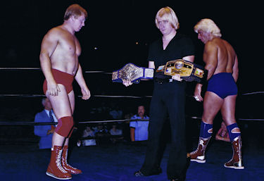 Bob Backlund vs Ric Flair