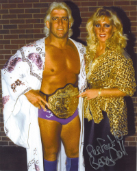 Baby Doll and Ric Flair