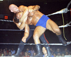Baron Von Raschke and Bruno Sammartino