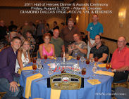 Diamond Dallas Page and SoCal Val 2011 HOH Table Photo