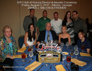 James J. Dillon 2011 HOH Table Photo
