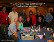 Roddy Piper 2011 HOH Table Photo