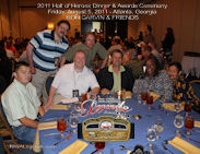 Ron Garvin 2011 HOH Table Photo
