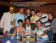 Ron Simmons 2011 HOH Table Photo
