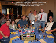 Stan Hansen 2011 HOH Table Photo