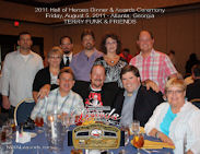 Terry Funk 2011 HOH Table Photo