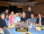 Tommy Rich and Ron Bass 2011 HOH Table Photo