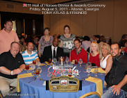 Tony Atlas 2011 HOH Table Photo