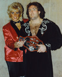 Tully Blanchard and Baby Doll
